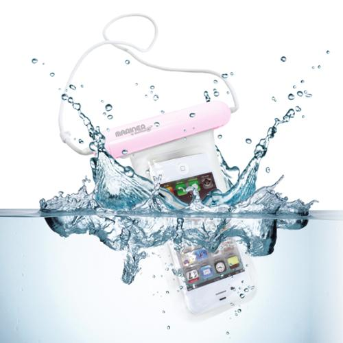 GreatShield Mariner (IP-68 Certified) 100% Waterproof Pouch Case for iPhone 5/5S/5c/4, Galaxy S5 Mini/S4 Mini, LG Realm