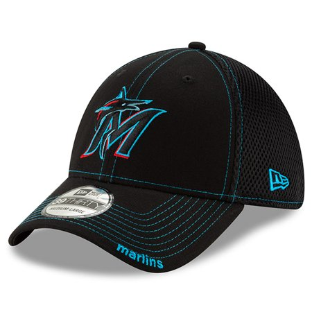 Miami Marlins New Era 2019 NEO 9THIRTY Flex Hat - (Best Mens Hats 2019)