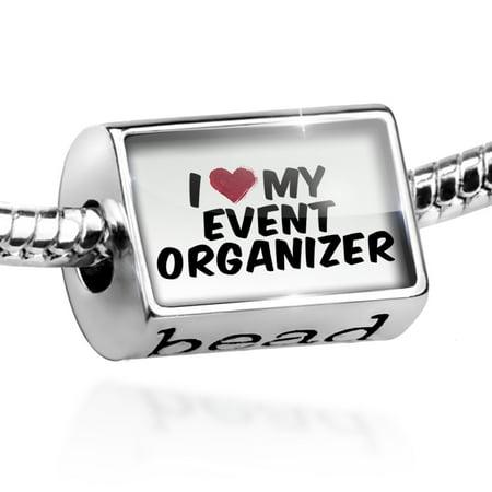 - Bead I heart love my Event Organizer Charm Fits All European Bracelets