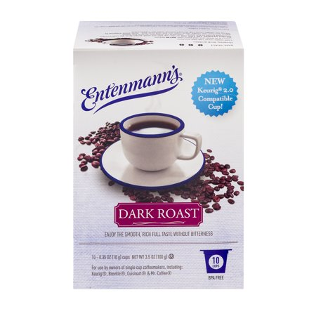 - Entenmann's Dark Roast Single Serve 10 Count (Pack of 4)