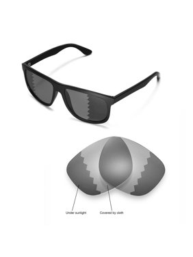 c6e22a1972c Product Image Walleva Transition Photochromic Polarized Replacement Lenses  for Ray-Ban RB4147 60mm Sunglasses