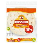 Mission Soft Taco Flour Tortillas, 10 Count