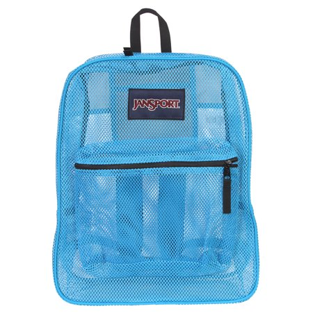 JanSport Mens Classic Mainstream Mesh Pack Backpack - Blue Crest (Jansport Viking Red Backpack)