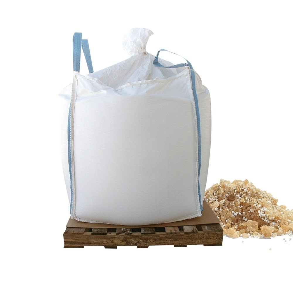 Bare Ground coated granular blend with Calcium Chloride pellets (Base UPC 0063227250512) Size 1000 lb