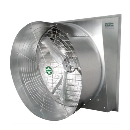 J Amp D Manufacturing Typhoon Slant Wall Exhaust Fan Vfs24cs