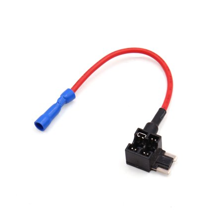 Fuse Adapter - 16.5cm Add A Circuit Car Tap Adapter Low Profile   Fuse Box Holder