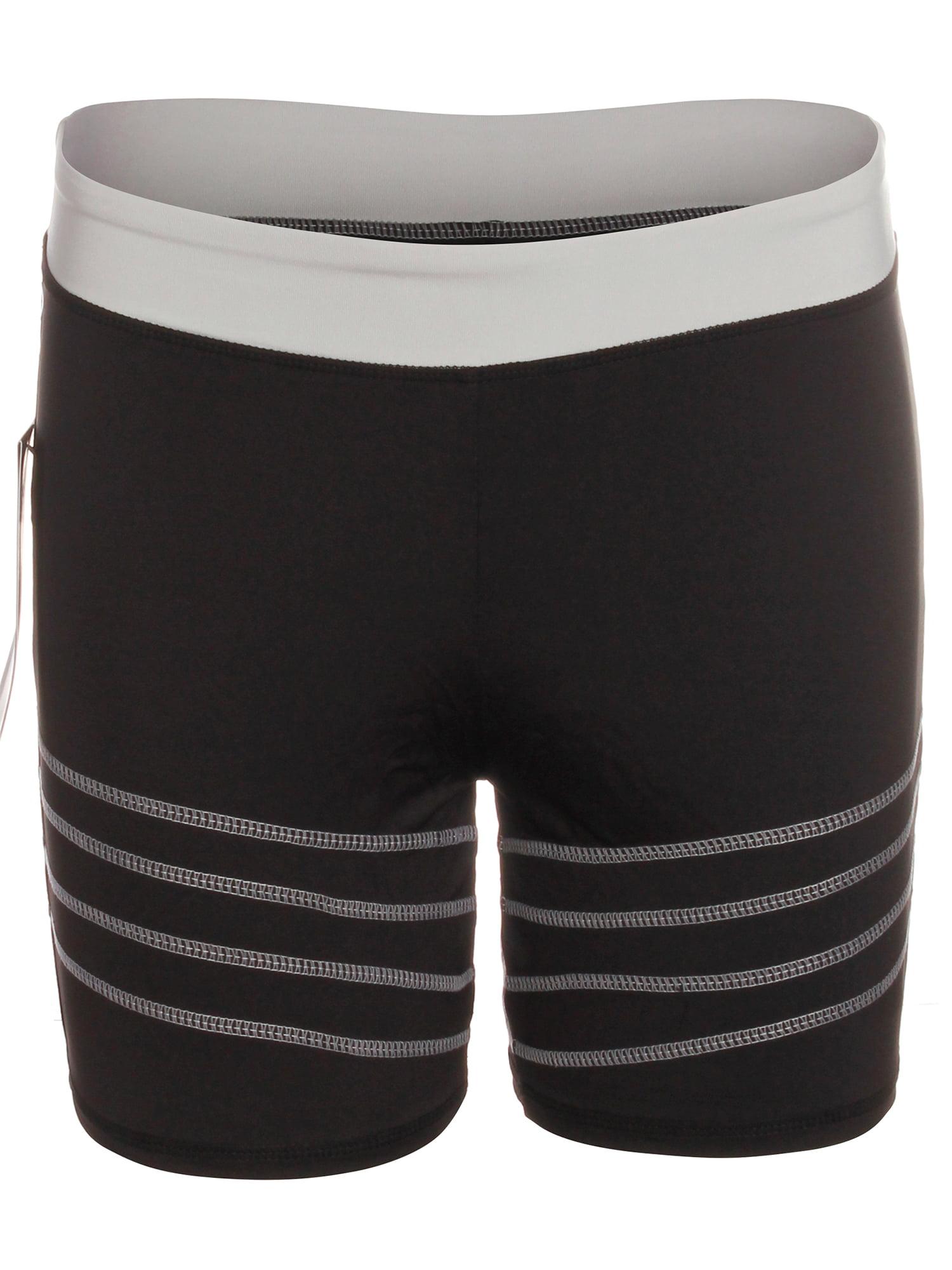 Emmalise Women's Atheltic Compression Tight Workout Exercise Yoga Shorts