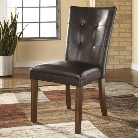 Ashley furniture lacey dining chair in medium brown for Meuble ashley circulaire