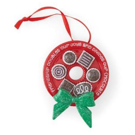 Hallmark Direct Imports DIR4416 Chocolate Wreath Ornament - Import Direct
