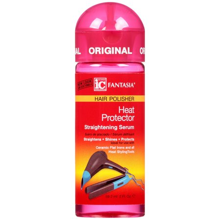 Fantasia® IC Heat Protector Straightening Serum Hair Polisher 2 fl. oz. Bottle