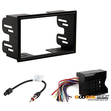 9000 Dash Kit (volkswagen 2003 - 2005 jetta (does not fit 2005 models with new body style) car stereo dash install mounting kit wire harness radio antenna)