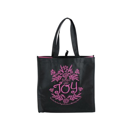 Size  one size Reusable Shopping Gift Bag with Scripture Verse ()