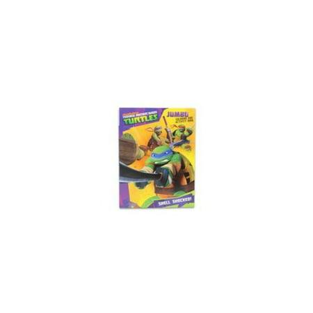 TMNT Teenage Mutant Ninja Turtles Jumbo Coloring And Activity Book Set With Bonus Puzzle