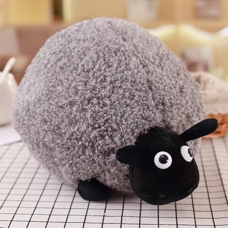 - Redcolurful Cartoon Sheep Lamb Doll Plush Toys Children's Baby Birthday Kids Lovely Soft Fluffy Stuffed Toys Xmas For Cushion
