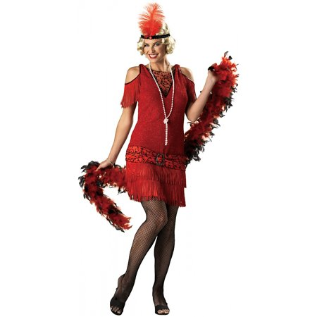 1920's Flapper Dress Adult Costume - Large