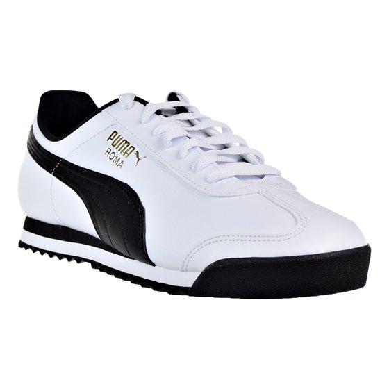 beste Auswahl an vielfältig Stile Top Design Puma Roma Basic Men's Shoes Puma White/Puma Black 353572-04