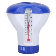 Pool Chemical Dispenser With Thermometer Floating Chlorine Tablets For Swimming Pools