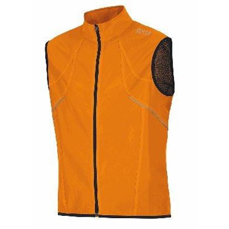 - Men's OZON Vest with WINDSTOPPER Active Shell - ORANGE - X-Large