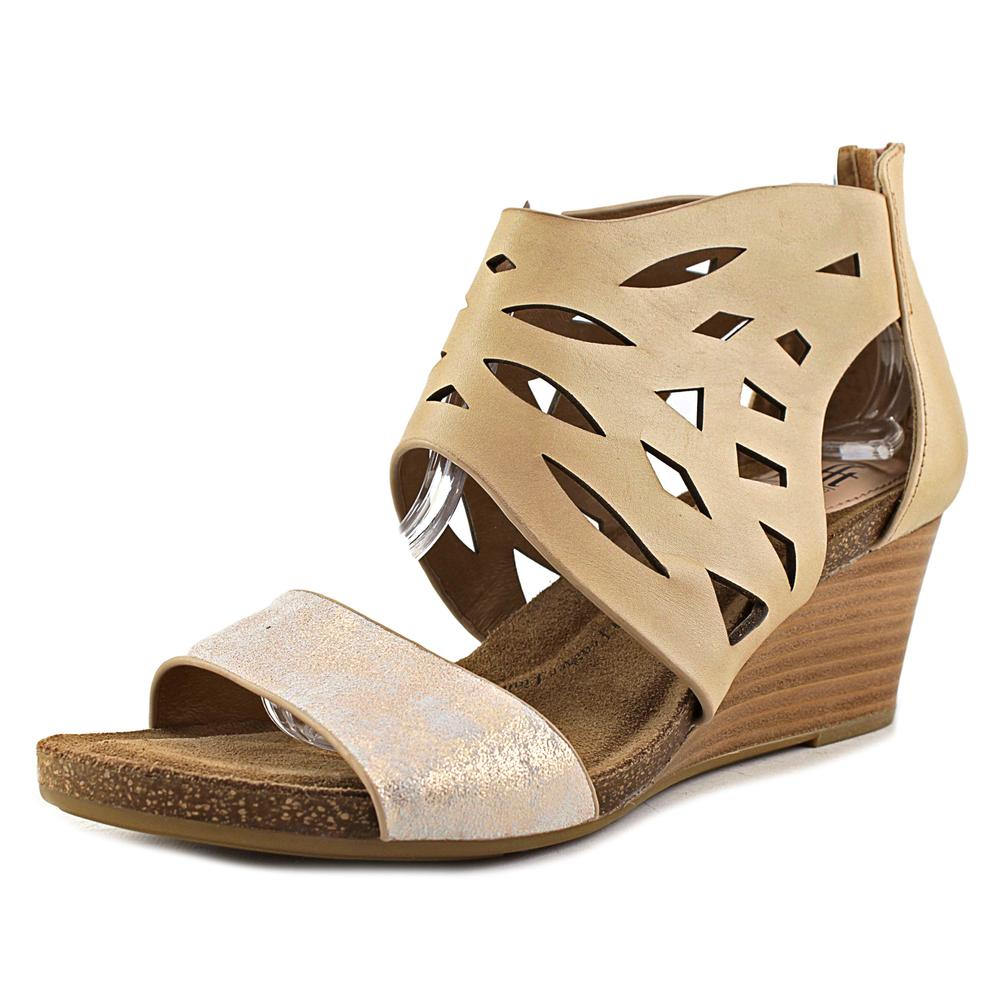 Sofft Mystic Open Toe Leather Wedge Sandal by Sofft