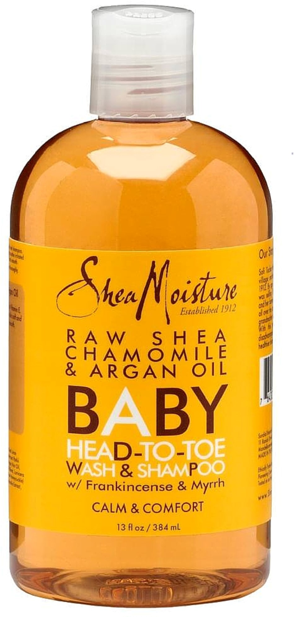 Click here to buy Shea Moisture Raw Shea Chamomile & Argan Oil Baby Head-To-Toe Wash & Shampoo 13 oz (Pack of 3) by SheaMoisture.