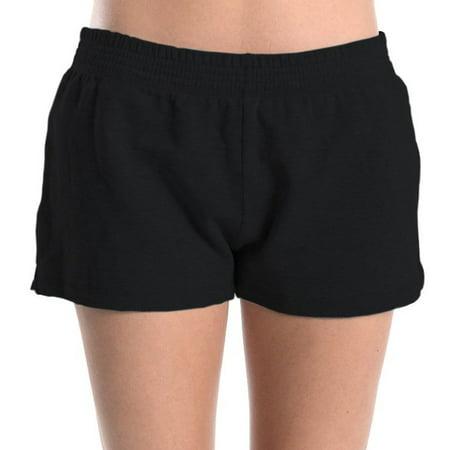 Women's Athletic Sweat Shorts Casual Lounge Sports Gym Walking Yoga Cotton S M