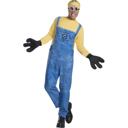 Adult Mens Despicable Me 3 Minion Dave Jumpsuit Costume