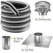 """DuraVent 55DF304-25K Stainless Steel 5.5"""" Inner Diameter"""