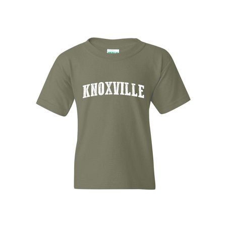 Knoxville in Tennessee Unisex Youth Shirts T-Shirt Tee