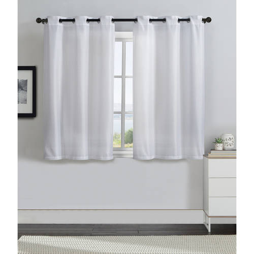 VCNY Home Solid Monroe Grommet Top Window Curtain Panels Set of Two, Multiple Sizes and... by VCNY Home