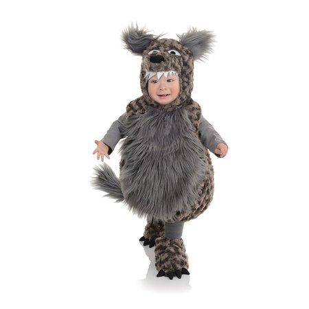 Underwraps Baby's Wolf Belly, Dark Grey, Large - image 1 of 1