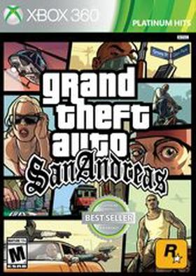 Videojuego Para Xbox 360 Grand Theft Auto: San Andreas for Xbox 360 + Xbox en VeoyCompro.net