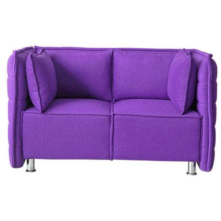 Wondrous Sofata Loveseat In Purple Lamtechconsult Wood Chair Design Ideas Lamtechconsultcom