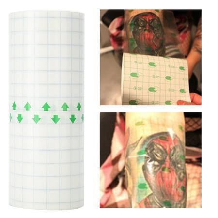 Cergrey Autocollant imperméable à l'eau de réparation de tatouage autocollant ferme de couverture d'emballage de fournitures de tatouage, autocollant de tatouage, autocollant de réparation de - image 5 de 8