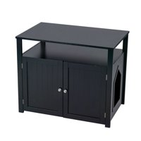 Litter Box Furniture Hidden Litter Boxes For Cats Walmart Com