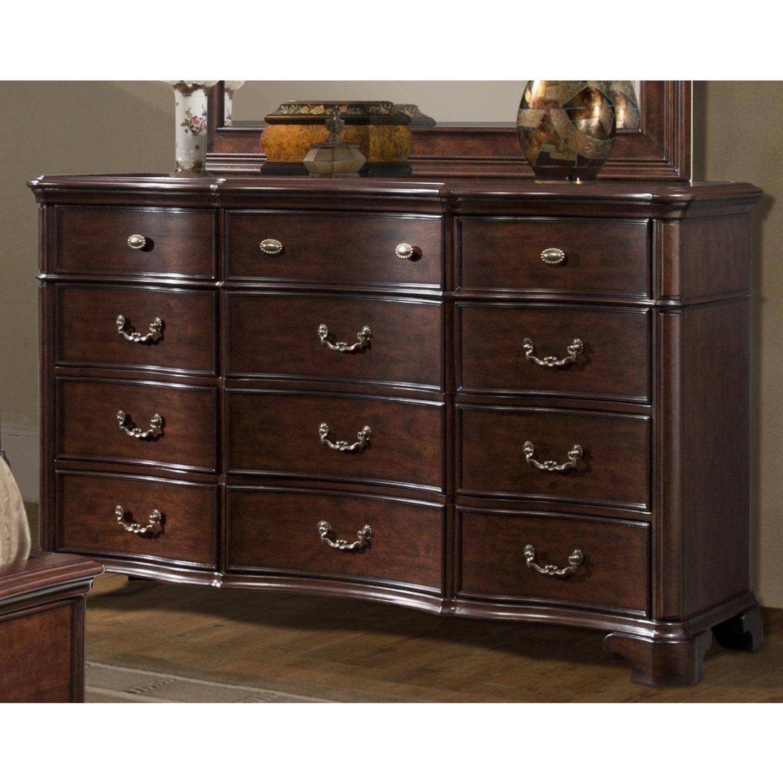 Picket House Furnishings Tabasco Dresser in Rich Cherry