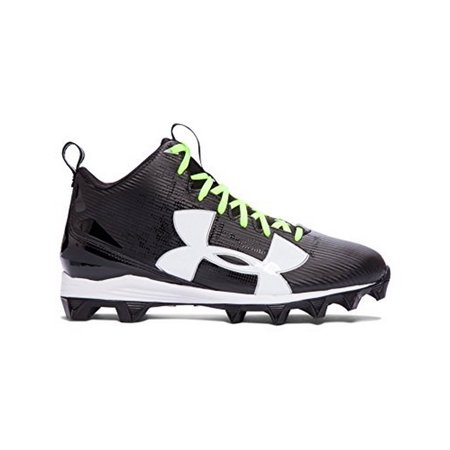 Under Armour Mens UA Crusher RM, Black-White, 13 Under Armour Crusher