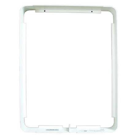 Heater Accessories - MARKEL PRODUCTS Heater Accessory,Mounting Frame,White 303EX32RW
