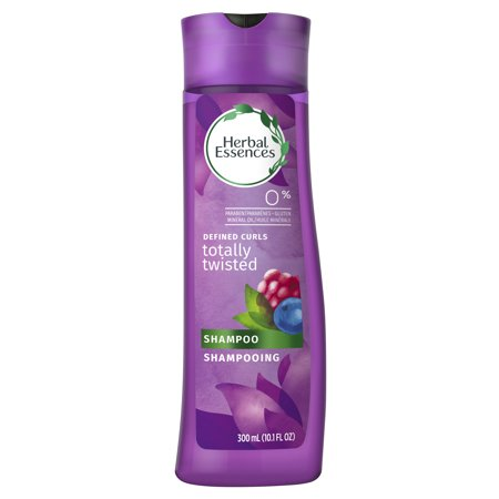 Herbal Essences Totally Twisted Curly Hair Shampoo with Wild Berry Essences, 10.1 fl