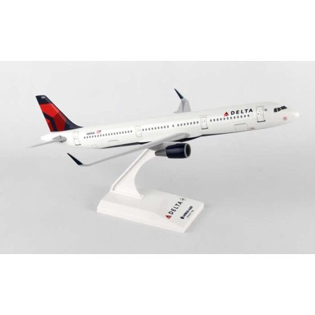 Skymarks Delta Airlines Airbus A321 1/150 Model Plane with Stand Reg N301DN (Airlines Bac 111 Model)