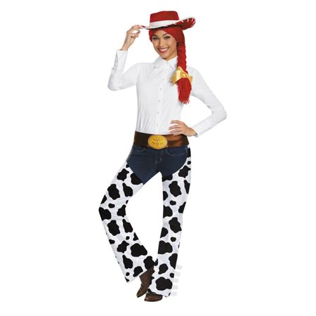 Morris Costumes DG95781 Jessie Adult Deluxe Exclusive Costume Kit - Halloween Jessie Episodes
