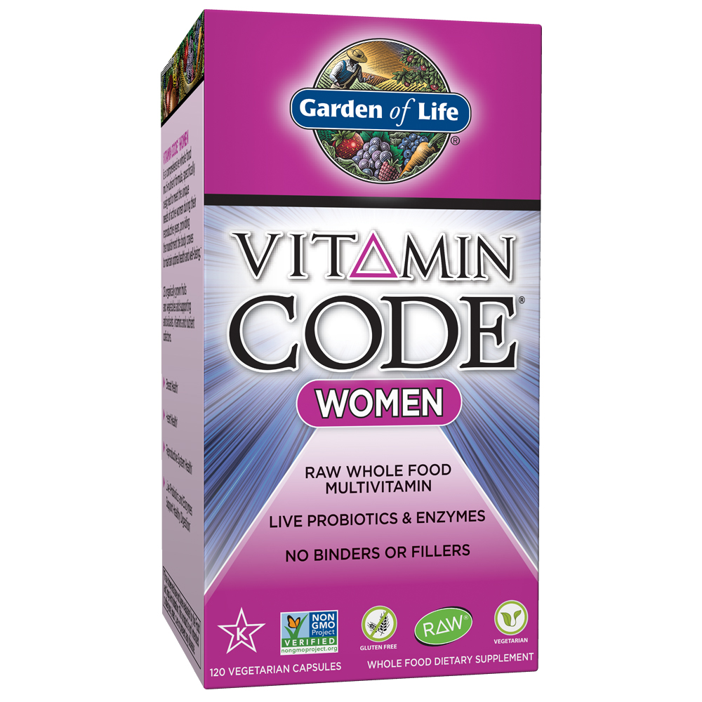 Garden of Life Vitamin Code Women's Multi 120 Capsules
