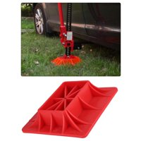 OTVIAP ABS Off-Road Base Lifting Jack Surface Pad Red Color to Alleviate Jack Hoisting Sinkage, Base, Jack Base
