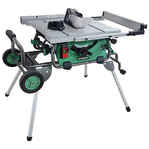 Factory-Reconditioned Hitachi C10RJ Hitachi C10RJ 15-Amp 10 in. Jobsite Table Saw (Refurbished)