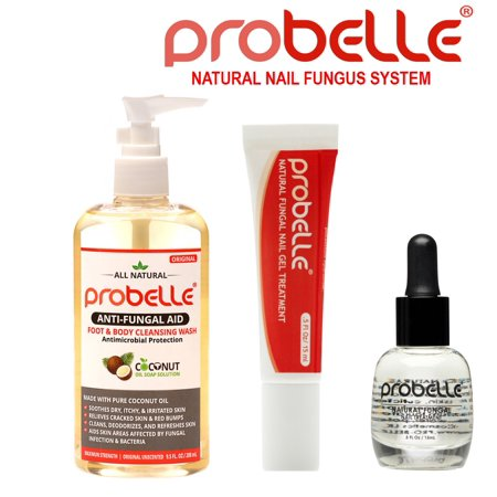 Probelle Antifungal Natural Treatment System Solution Kit (3 Piece ...