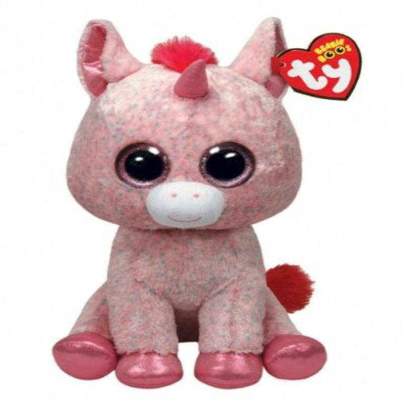 Ty Beanie Boos Rosey Unicorn Large Justice Exclusive Walmart Com