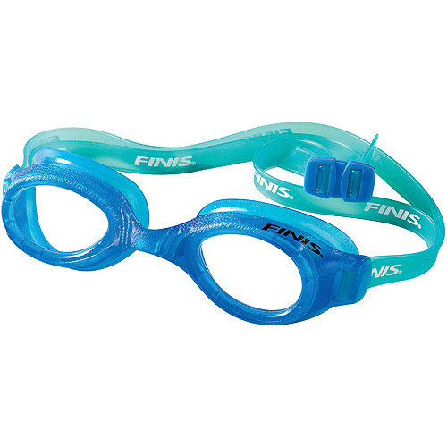FINIS H2 Junior Blue and Clear Swim Goggle for Children