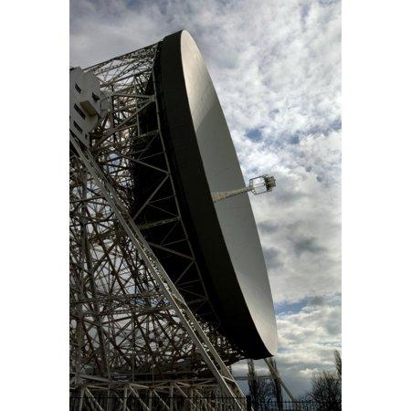 The Lovell Telescope At Jodrell Bank Observatory In Cheshire England Canvas Art   Mark Stevensonstocktrek Images  12 X 18