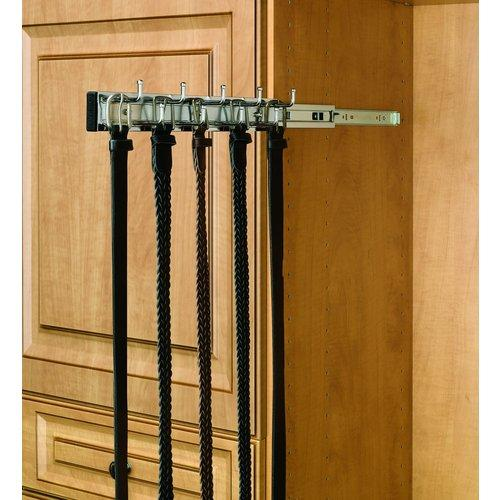Rev-A-Shelf  BRC-12  Belt Racks  BRC  Closet Organizers  ;Satin Nickel
