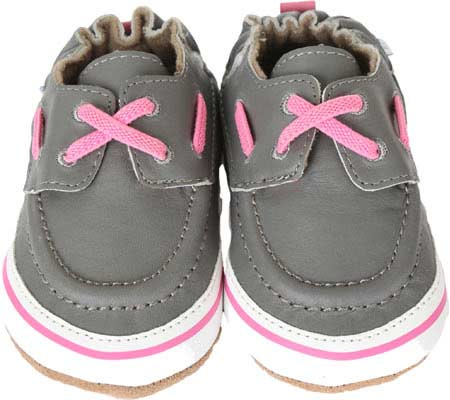 Infant Girls' Robeez Boatin' Betty Crib Shoe by