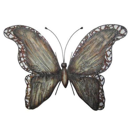 Very Cool Stuff 21-inch Butterfly Metal Wall Decor